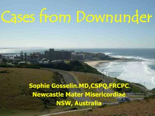 Cases from Downunder
