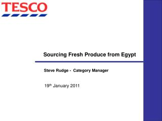 Sourcing Fresh Produce from Egypt