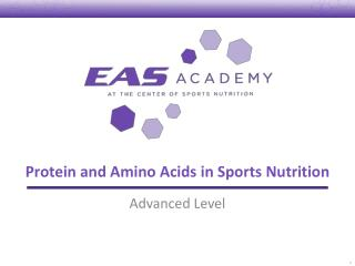 Protein and Amino Acids in Sports Nutrition