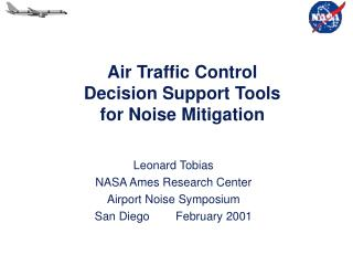 Air Traffic Control Decision Support Tools for Noise Mitigation