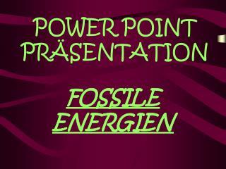 POWER POINT PR SENTATION
