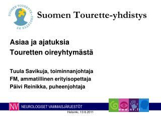 Suomen Tourette-yhdistys