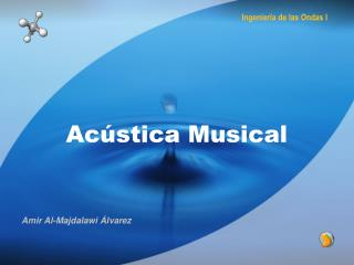 Ac stica Musical