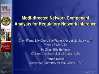 Motif-directed Network Component Analysis for Regulatory Network Inference