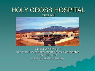 HOLY CROSS HOSPITAL  TAOS, NM