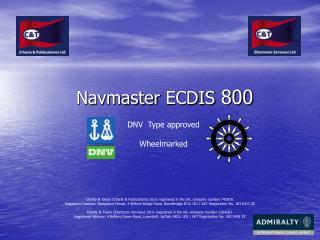 Navmaster ECDIS 800