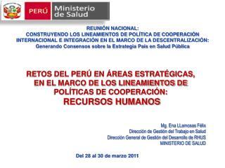 REUNI N NACIONAL:  CONSTRUYENDO LOS LINEAMIENTOS DE POL TICA DE COOPERACI N INTERNACIONAL E INTEGRACI N EN EL MARCO DE L