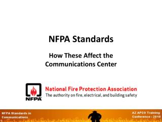 NFPA Standards