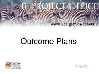 Outcome Plans