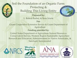Soil the Foundation of an Organic Farm:  Protecting   Building This Living Entity