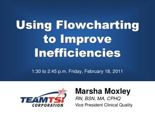 Using Flowcharting  to Improve Inefficiencies