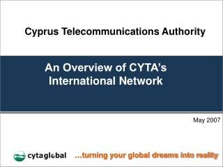 An Overview of CYTA s International Network
