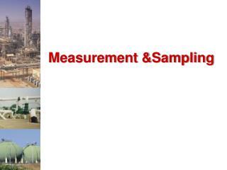Measurement Sampling