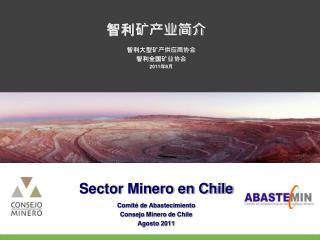 Comit  de Abastecimiento Consejo Minero de Chile Agosto 2011