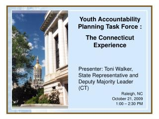 Youth Accountability Planning Task Force :  The Connecticut Experience