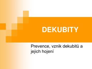 DEKUBITY