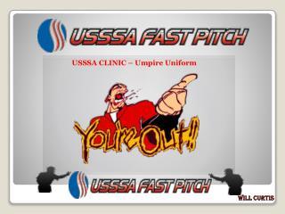 USSSA CLINIC   Umpire Uniform