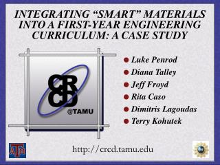 INTEGRATING  SMART  MATERIALS INTO A FIRST-YEAR ENGINEERING CURRICULUM: A CASE STUDY