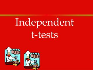Independent t-tests