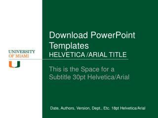 Download PowerPoint Templates HELVETICA