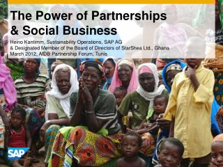 The Power of Partnerships   Social Business