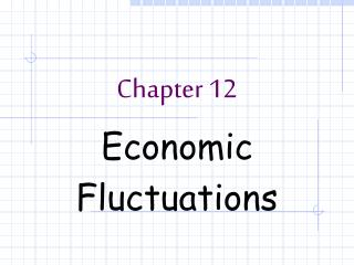 Economic  Fluctuations