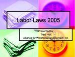 Labor Laws 2005