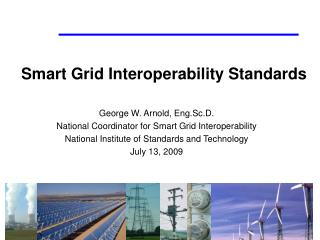 Smart Grid Interoperability Standards