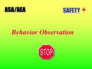Behavior Observation