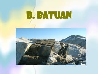B. BATUAN