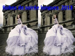robe de soirée longue en 2013