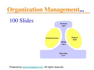 Organization Management models for powerpoint presentations