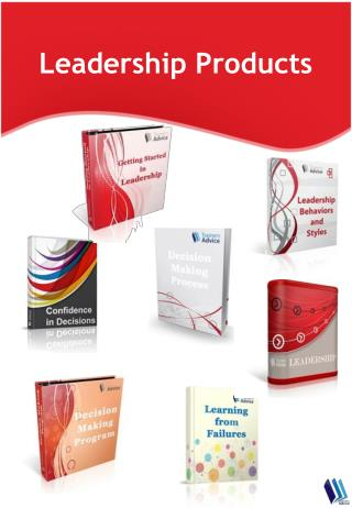 Leadership Training Products Catalog