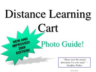 Distance Learning Cart