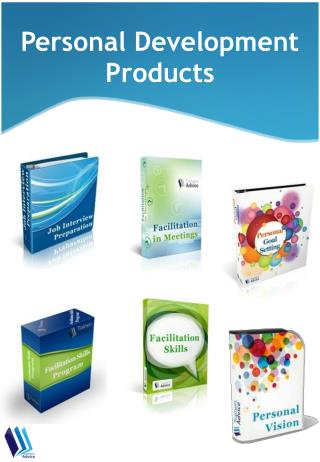 Personal Development Training Products Catalog