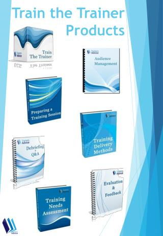Train the Trainer Products Catalog