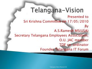 Telangana-Vision