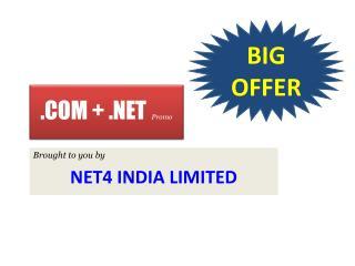 25% discount on .COM+.Net @ Net4