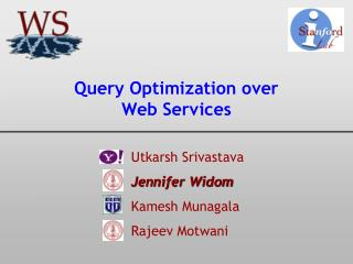Query Optimization over Web Services
