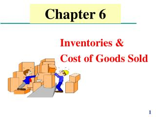 Inventories   Cost of Goods Sold