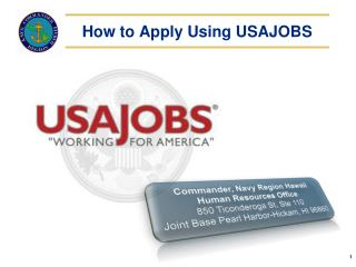 How to Apply Using USAJOBS
