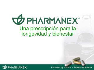 Una prescripci n para la longevidad y bienestar
