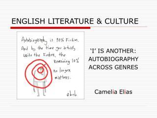 ENGLISH LITERATURE  CULTURE
