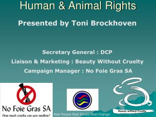Human  Animal Rights