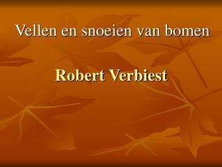 Robert Verbiest