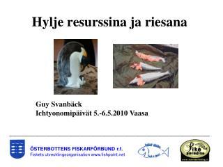 STERBOTTENS FISKARF RBUND r.f. Fiskets utvecklingsorganisation fishpoint