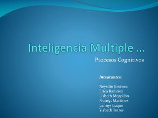 Inteligencia Multiple