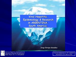 Viral Hepatitis. Epidemiology  Research in ARGENTINA. South America.