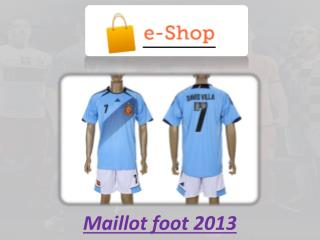 Maillot foot 2013