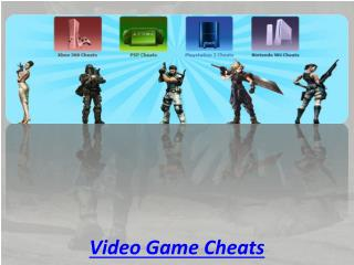 Video Game Cheats